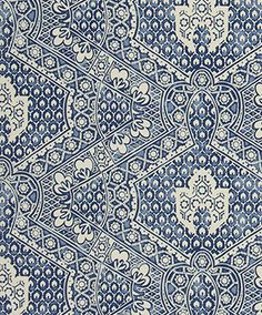 + pattern Designers Guild - Fabrics & Wallpaper Collections, Furniture, Bed and Bath, Paint, and Luxury Home Accessories Textiles, Textile Patterns, Print Patterns, Blue Patterns, Designers Guild, Fabric Wallpaper, Pattern Wallpaper, White Wallpaper, Fabric Design