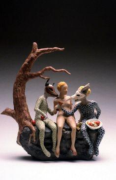 Goblin Market ( Teapot) by Carrieanne Hendrickson