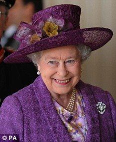 It seem HRH is fond of this shape.  She's had it made in a bazillion different colors.
