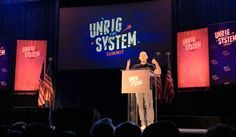 Unrigging The System: Reformers, Civic Groups Take Action Following Historic Summit. The Unrig The System Summit in New Orleans was a historic event that brought together people from across the political spectrum who could all agree on at least one thing: Our political process is corrupt, rigged, and need of broad systemic reform.