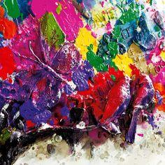 Bilder-Set Magic Tree (2-teilig) - Arcrylfarbe auf Leinwand   Home24