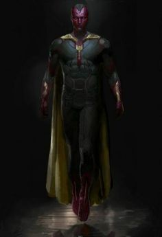 """""""Avengers: Age of Ultron"""" Concept Art Details The Vision's Look - Comic Book Resources"""