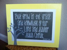 For Grace's room