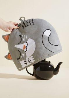 Purr Me a Cup, Please Tea Kettle Cozy