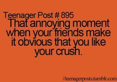 crush, friends, funny, teenager post, text - inspiring picture on Favim.com on we heart it / visual bookmark #21793148