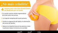 ¡Olvídate de la #celulitis con LipoGuardCream de #Medicalia! #Mujer #Belleza #Salud #Health #Beauty #SkinCare