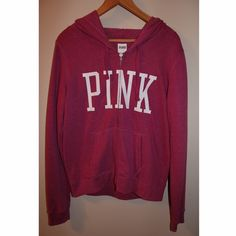 Victoria's Secret Pink Jacket Light enough for summer and the pink is definitely the perfect color to coordinate with any summer outfit you have in mind PINK Victoria's Secret Tops