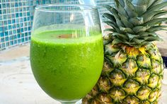 Tropical Greens Smoothie - Take a trip to the tropics with the island-reminiscent flavors of coconut, mango, and lime. This brightly colored, frosty delight will cool you down and offer a little kick of spice.