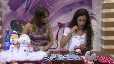 Mulher.com 09/12/2014 Sheila Abreu - Boneco de neve de meia Parte 2/2