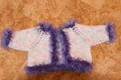 Baby Born jacket  double Mandarin petit - cotton -pins 4.5