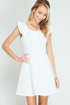 Ravishing Ruffled Sleeveless Textured Dress