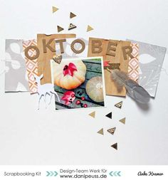 Layout mit dem #dpOktoberkit15 von Anke Kramer für www.danipeuss.de