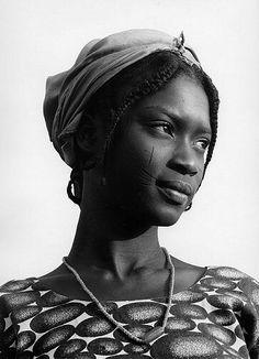 Margo Davis Fulani Girl, Nigeria, 1981