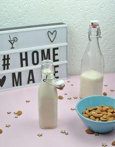 Lait d'amande maison – Goonora Glass Of Milk, Blog