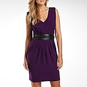 B Smart Pleated Dress with Belt. @Sarah Lempke $35 at JCPenney