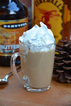 Fireball Butterscotch Coffee. You'll never want a plain cup of coffee again.