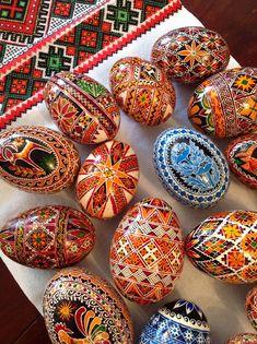 Ukrainian Easter pysanka.