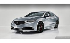 Renders Preview that the 2018 Acura TLX Will Look Pretty Snazzy