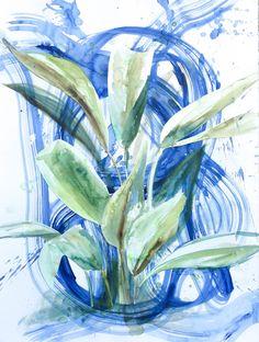 Banana Leaf by Mary Jo Major