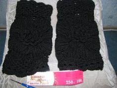 Graficos y Crochet: Paso a paso piel y crochet