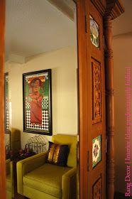Rang-Decor Interior Ideas predominantly Indian: She came home on