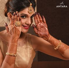 "Antara Jewellery ""Portfolio"" Mehendi Designs, Mehendi Arts, Wedding Mehendi Art, Bridal Mehendi Ideas, #weddingnet #indianwedding #mehendiarts #mehendi #henna #hennaart #bridal #look"