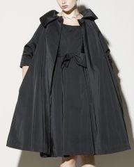Deadstock Sandra Sage for Joseph Magnin Dress + Coat Set at 1stdibs