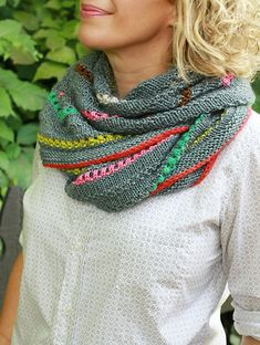 Aeris - an exclusive shawl kit from The Yarniad & The Plucky Knitter