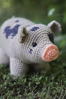 Pig - Free Crochet / Amigurumi Pattern #crochet #amigurumi #Amigurumi