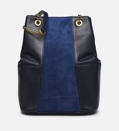 Nat Et Nin Sac seau ALIZEE Bleu - 😍Découvrir ici - #Sarenza #Sacs #Bags #BlackFriday #NatetNin #ScasNatetNin #Sacamain #tendances #Sacsamain #instafashion #BlackFridaySarenza Nat Et Nin, Sling Backpack, Black Friday, Backpacks, Fashion, Bucket Bag, Purse, Guess Purses, Black Leather