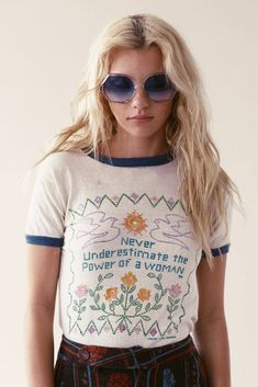 We Can Do It, 60's Feminist Tee – Stoned Immaculate Vintage