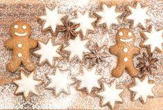 Würzige Lebkuchen mit Zuckerguss gehören im Advent dazu. Wir zeigen, wie ihr weihnachtliche Lebkuchen-Männer backen könnt! ✓ Zum Rezept im GEOlino Kochbuch Beaux Desserts, Biscuits, Gingerbread Cookies, Halloween, Christmas, Food, Family Christmas, Slide Show, Recipe