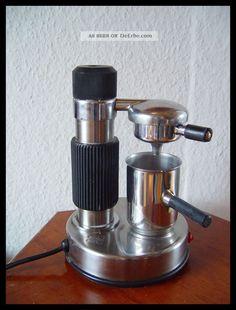 Ama Milano Espresso Latte Coffee Maker Vintage Electric Stainless Steel Italian 1970-1979 Bild