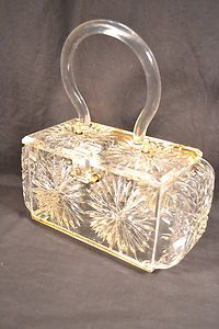 Starburst Lucite Purse