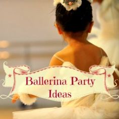 I wanted to be a ballerina when I was a kid, but well didn't every little girl?  I think this theme is more than perfect for any little (or big girl), I know I would be really happy to have a ballerina birthday party when I was a kid.  Browse...