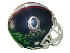 SOLD OUT! Dwayne Bowe signed 2011 Pro Bowl Riddell football mini helmet w/ proof photo.  Proof photo of Dwayne signing will be included with your purchase along with a COA issued from Southwestconnection-Memorabilia, guaranteeing the item to pass authentication services from PSA/DNA or JSA. Free USPS shipping. www.AutographedwithProof.com is your one stop for autographed collectibles from Kansas City Chiefs & NFL teams. Check back with us often, as we are always obtaining new items.
