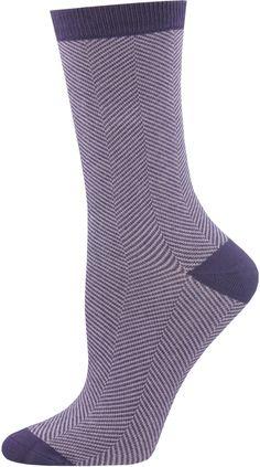9eba578e1 Bamboo herringbone socks come in tons of colors