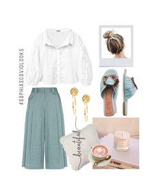 """Que podamos vernos super """"Classie"""" pero a la vez sentirnos totalmente relajadas, no es tarea fácil! Nuestra blusa PAWA es un Must! en el closet de todas porque logra que nos veamos WOW con cualquier parte inferior. Product Page, My Style, Polyvore, Outfits, Image, Ideas, Fashion, Blouse, Sleeves"""