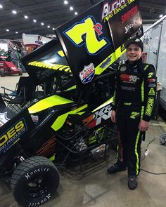 Jake Andreotti has started his 2016 race season at the Tulsa Shootout coming off a three month hiatus due to injuries to his neck and a concussion Sprint Race, Dirt Track Racing, Pallet Ideas, Lineup, Chili, Monster Trucks, Wheels, Seasons, Flat