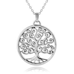 """925 Sterling Silver Tree of Life Pendant Necklace 18"""" for Women 925Collections http://www.amazon.com/dp/B00C3GB1YI/ref=cm_sw_r_pi_dp_bkV2ub19FKQQB"""