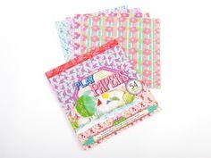 Pastel Pattern Paper - Paper - DIY Materials | Kids Crafts & Activities for Children | Kiwi Crate $8.95