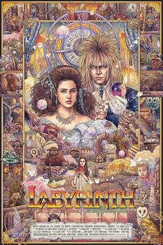 I move the stars for no one - Labyrinth / Director: Jim Henson David Bowie Labyrinth, Labyrinth 1986, Labyrinth Movie, Jim Henson Labyrinth, Fantasy Movies, Fantasy Art, Anime Kunst, Goblin King, The Dark Crystal