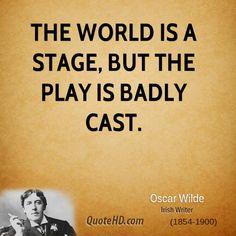 Oscar Wilde Quotes                                                                                                                                                                                 More
