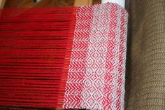 Sue knits and spins: Twill on the rigid heddle loom