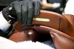 I want my saddles to have my name engraved  on them :)