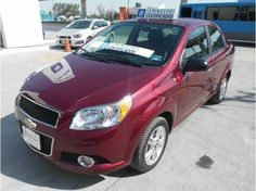 Chevrolet Aveo Paquete E DEMO 2014 Color Rojo Tinto