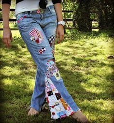 DIY Clothes DIY Refashion DIY Altering Jeans