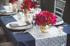 Cozy Winter Wedding Inspiration - www.theperfectpalette.com - Jenni Grace Photography, Devoted to You Events, The Blue Daisy Floral Designs