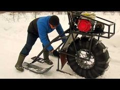 Снегоход-каракат_2_____г Кострома - YouTube