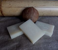 Natural soap Coconut от AmbraTM на Etsy